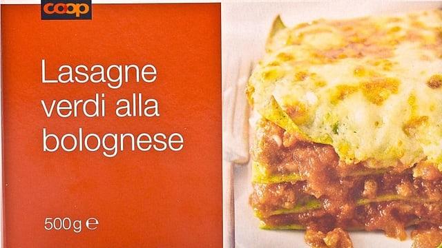 Lasagne von Coop (ccop.ch)