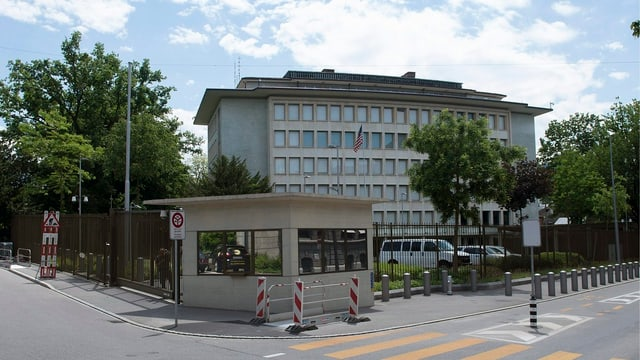 L'ambassada americana a Berna.