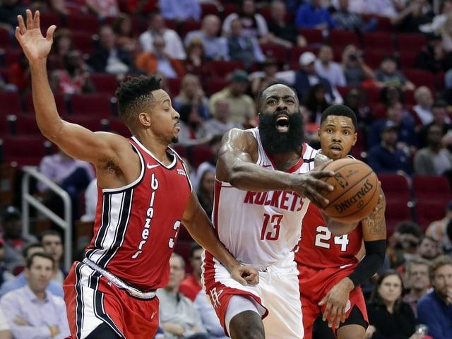 Rockets-Aushängeschild James Harden.