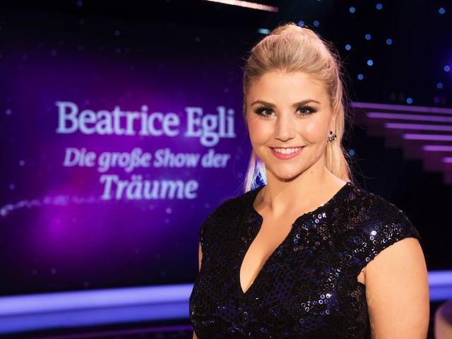 Beatrice Egli auf ihrer Show-Bühne