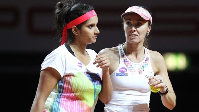 Tennisspielerinnen.