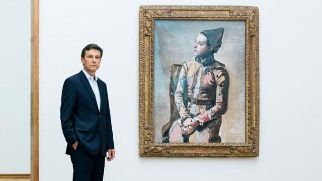 Helfenstein neben Picasso Bild