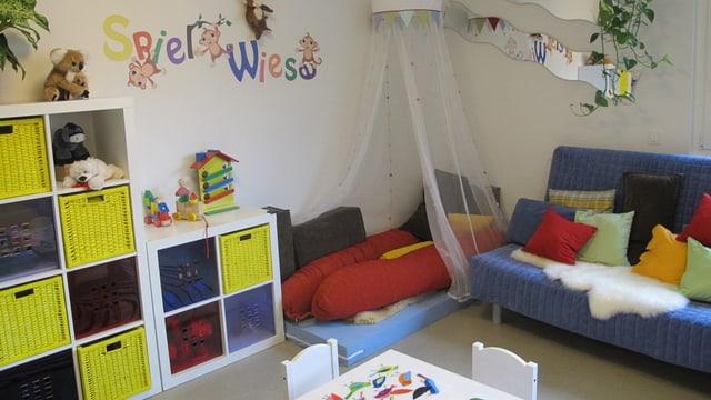 Spielzimmer des Kinderheims Brugg