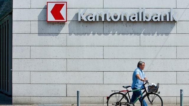 Eingang Basellandschaftliche Kantonalbank