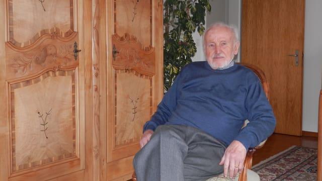 Portrait von Josef Vaucher.