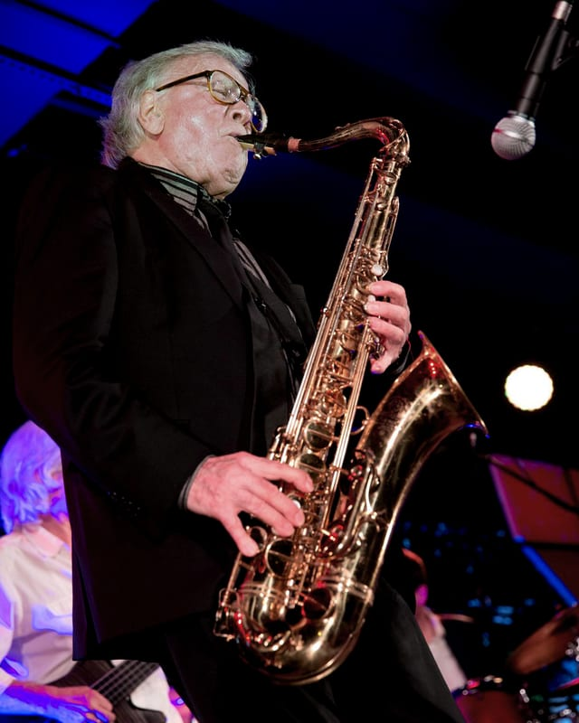 Klaus Doldinger in Stuttgart, 2016.