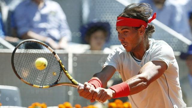 Rafael Nadal steht auch in Madrid im Final.