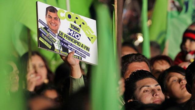 Anhänger von Correa.