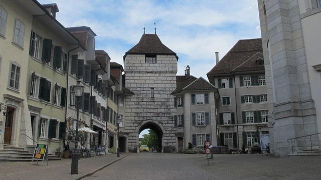 Das Baseltor in der Stadt Solothurn.