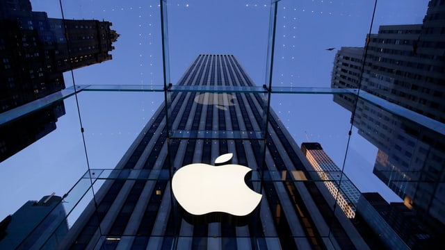 Buita d'Apple a New York.