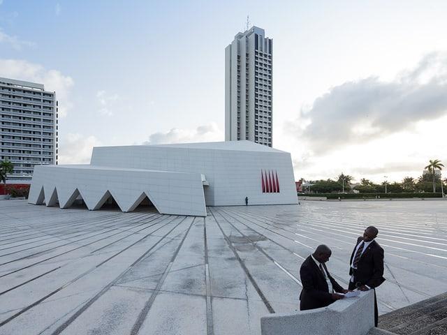 Wahrzeichen Abidjans: Hôtel Ivoire