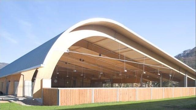 Die Eiskunsthalle in Sissach.