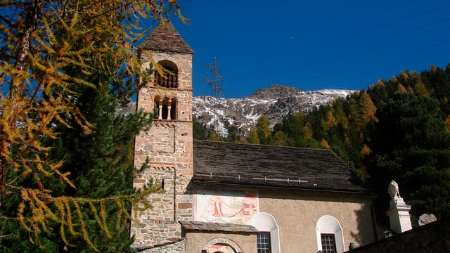 La baselgia Sta. Maria a Puntraschigna.