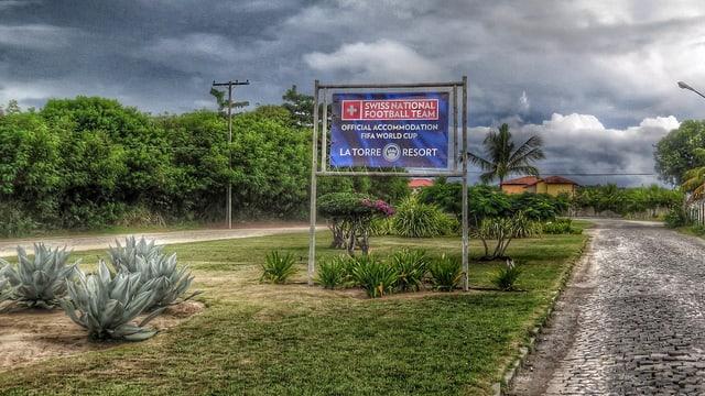 Die «offizielle» Heimat der Schweizer Nati in Brasilien.