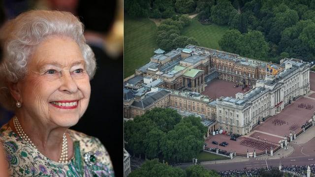 Queen und Buckingham Palace