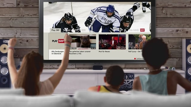 Kinder schauen HbbTV