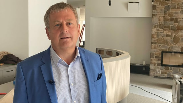 Gerhard Wendl, il fundatur e manader da fatschenta da la JUFA hotels.