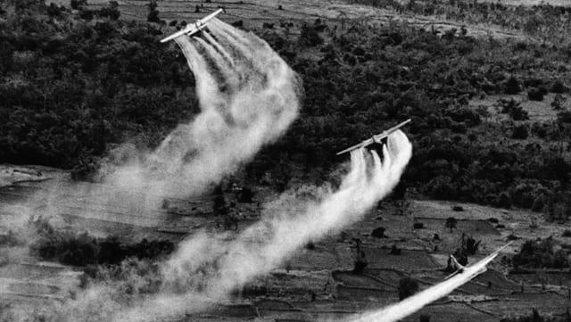 80 Millionen Liter Gift wurden versprüht
