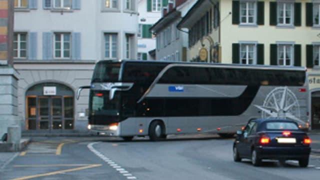 Der Tellbus startet in Altdorf