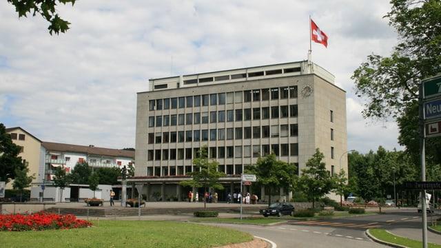 Das Rathaus in Wettingen
