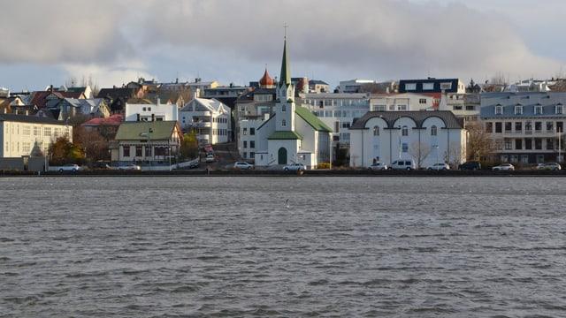 Skyline Reykjavik.