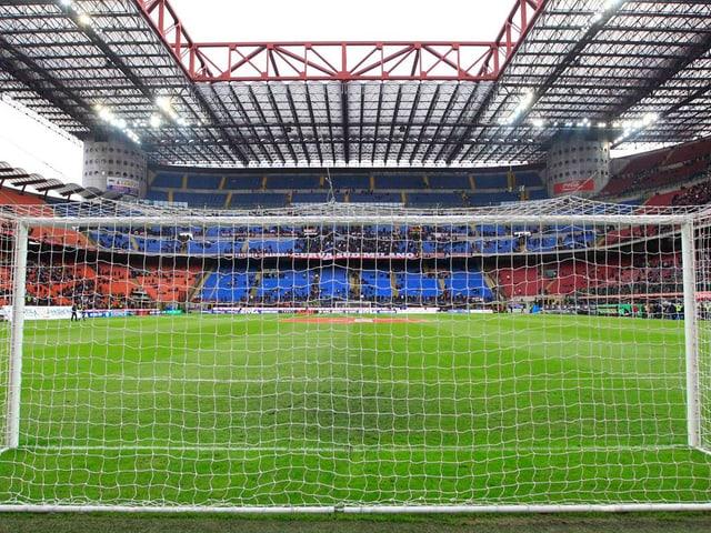 Stadion von innen