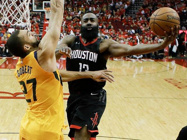 Rockets-Superstar James Harden.