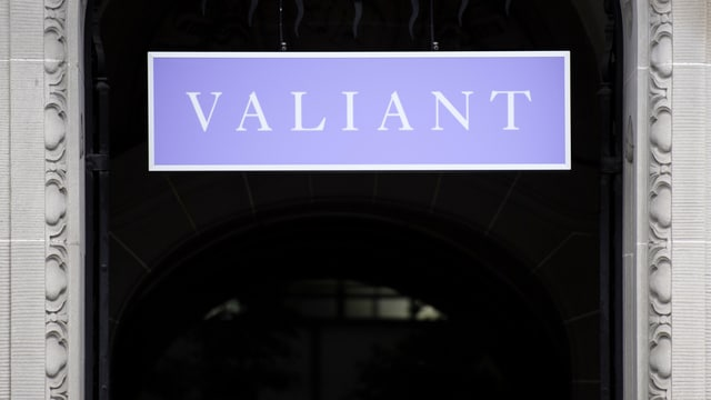 entrada da la banca Valiant