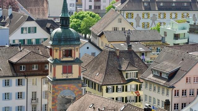 Der Hauptort des Kantons Uri, Altdorf.