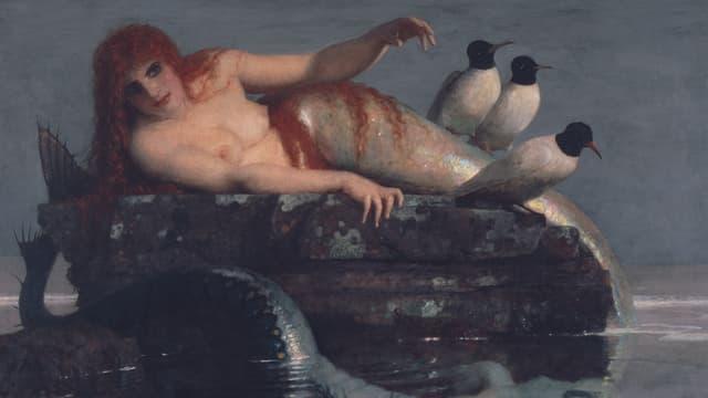 Arnold Böcklins «Meeresstille»