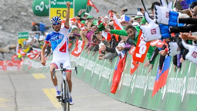 Il ciclist franzos Thibaut Pinot