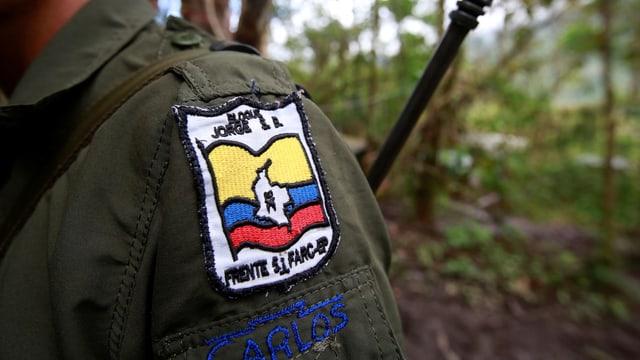 Mitglied einer Farc-Brigade