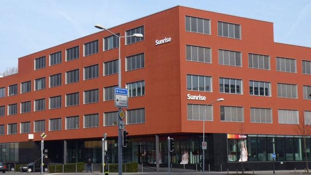 Der Sunrise-Hauptsitz in Zürich-Oerlikon.