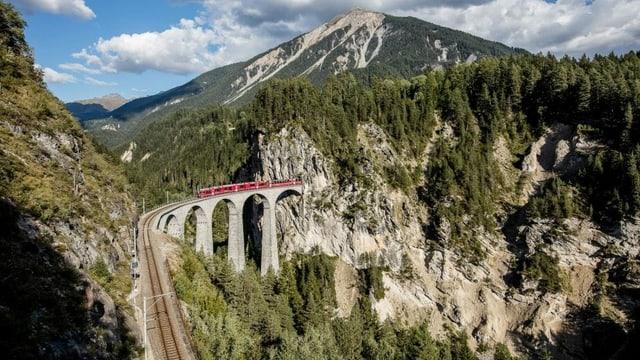 Il viaduct da la Landwasser.