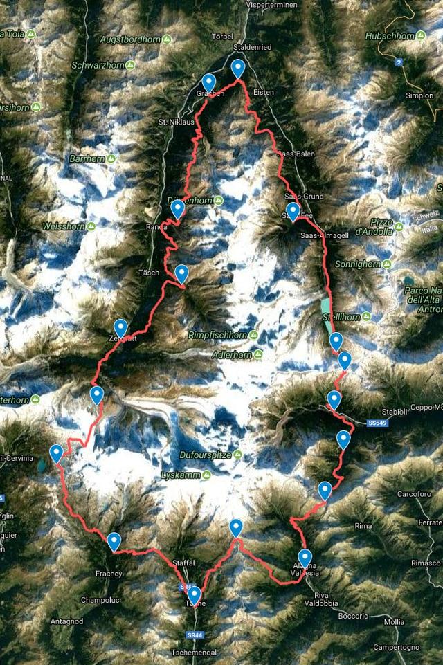 massiv Monte Rosa