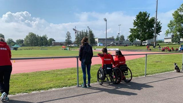 Auch die Schweiz ist mit zahlreichen Rollstuhlathletinnen und Rollstuhlathleten in Arbon am Start.