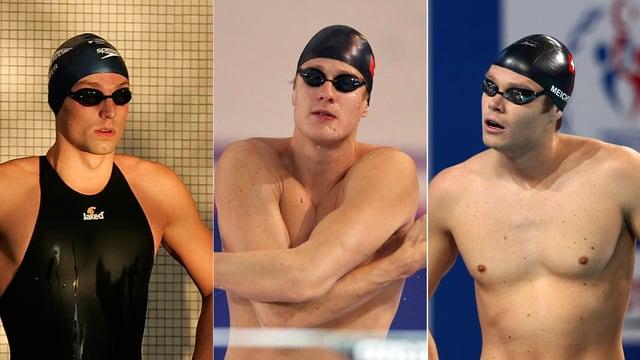 Martin Schweizer, Lukas Räuftlin und Dominik Meichtry.