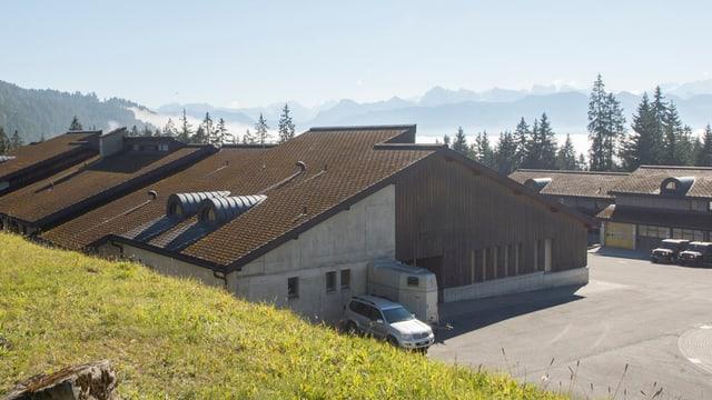 A partir dals 2 da november vegn il chantunament sin il Glaubenberg duvrà sco center d'asil.