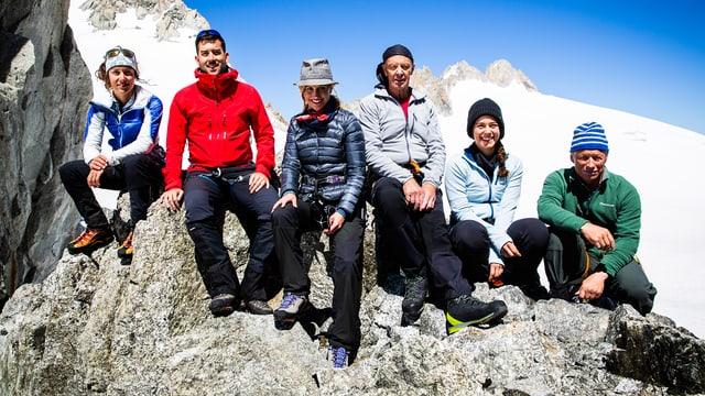 Hoch hinaus während der «Alpenreise»