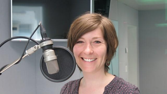 Zu sehen ist Sonja Mühlemann, Filmemacherin.