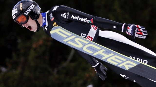 Skispringer Gregor Deschwanden