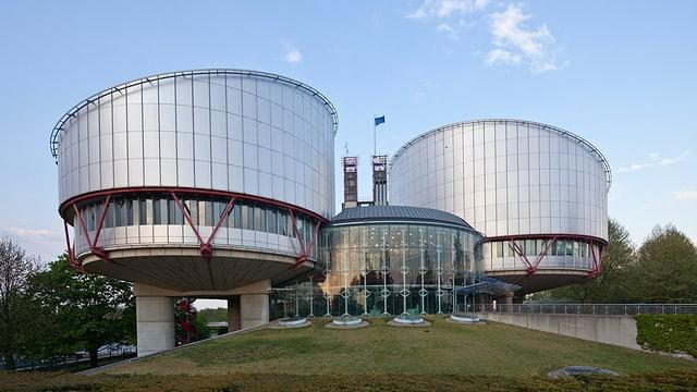 Sitz des Europäischen Gerichtshof für Menschenrechte in  Strassburg.