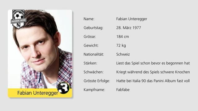 Wurde von seinem Vater trainiert: Comedian Fabian Unteregger.