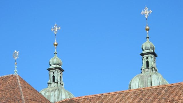 Turmspitzen des Klosters St.Gallen