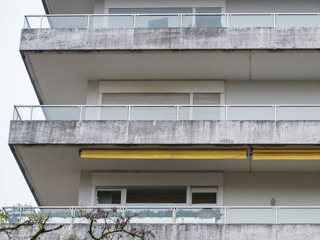 Die Wohnung von Gurlitt in München.