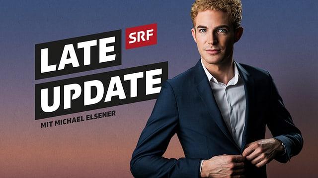 Late Update Logo und Portraitbild von Michael Elsener