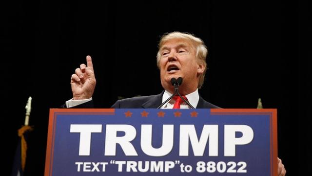 L'interprendider e candidat republican, Donald Trump.