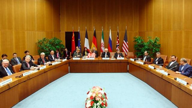 Atomgespräche in Wien.