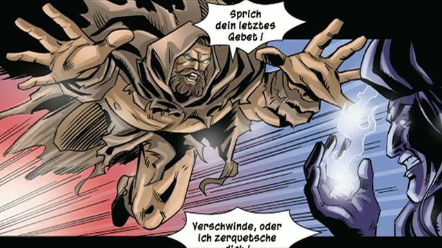 Wilhelm Tell als Superheld.