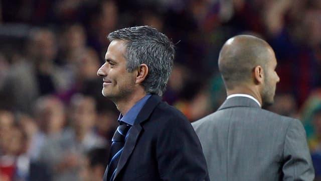 José Mourinho und Pep Guardiola duellieren sich einmal mehr um einen Titel.